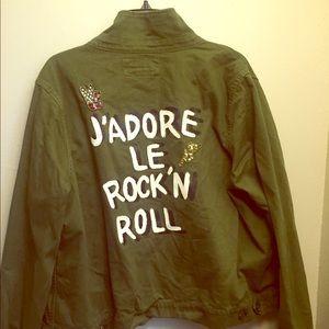Army Green Fashion Jacket